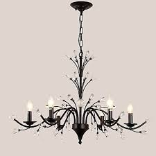 6 lights crystal chandelier modern contemporary traditional classic tiffany vintage retro country painting feature