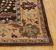 pottery barn brandon rug best of brandon persian style rug swatch