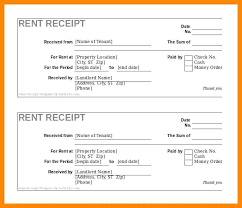 Printable Rent Receipt Template India Download Them Or Print