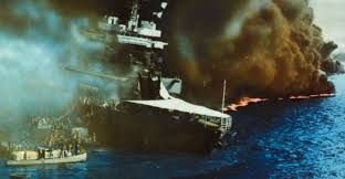 Image result for uss california sinking