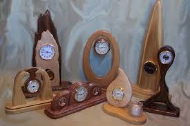 wood clock designs