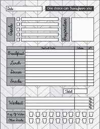 Diet And Exercise Journal Printable Pin On Gettin Skinny