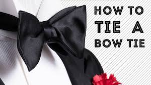 HOW TO TIE A BOW TIE Step-By-Step The Easy Way, Slow, For Beginners - WORKS  GUARANTEED - YouTube