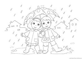 Pioggia Ombrello Le News Di Scuola Da Colorare It Con Immagini