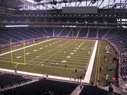 Ford Field View From Mezzanine 245 Vivid Seats