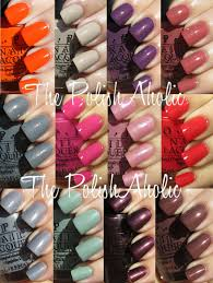 Opi Gel Color Chart 2016 Where To Buy Opi Gel Nail Polish Nails Ideas