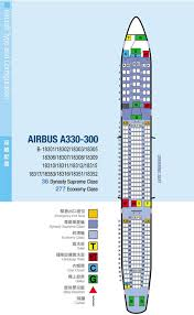 Airbus A333 Delta Seating Chart Ffpupgrade China Airlines Airbus 333 Seating Configuration