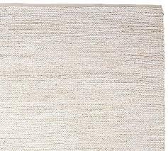 jute chenille rug 10x14 heather gray pottery barn o jute chenille rug