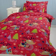 Sparkling Red Next Next Duvet Duvets Plus Carine Lansfield Rudolph Bedding  Set in Christmas Bedding Sets