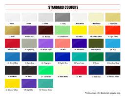 Samurai Spray Paint Colour Chart Samurai Paint Standard Colors Samurai Paint Malaysia
