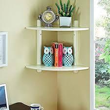 Image Wooden Image Unavailable Amazoncom Amazoncom Shelves Zhangrong Shelf Fanshaped Solid Wood Triangle