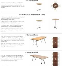 cocktail table size elegant exceptional your linen sizing guide for within 5