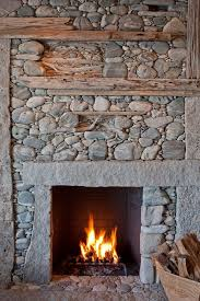 rock face spaces rustic with decorative stone fireplace brown fireplaces