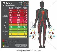 Diabetes Chart Image Photo Free Trial Bigstock