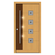 feature lighting available in front doors