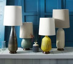 mid century lamp. Mid Century Table Lamp Bullet West Elm Lamps Designer Design Inspiration N