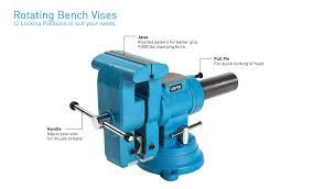 Wilton Mechanicu0027s Bench Vise U2014 4in Jaw Width Model 21300 Hydraulic Bench Vise