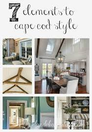 Cape Cod Living Room Extraordinary 48 Elements To Cape Cod Style Dandelion Patina