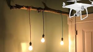 lighting corner. DIY Corner Lamp - How To Create A Very Cool Looking With Wood Stick And Cloth Pendant Lights Lighting