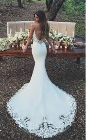 Enzoani Wedding Dress Size Chart Details About Spaghetti Straps Sheath Lace Wedding Dress
