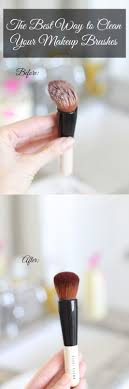 the absolute best way to clean your makeup brushes mine look brand new now and