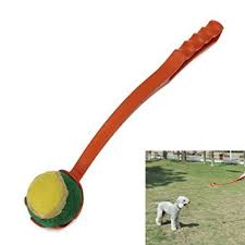 ball thrower. get quotations · pet dog puppy outdoor training tool ball thrower launcher