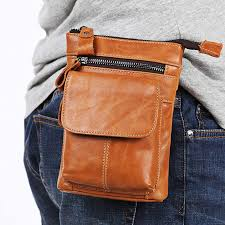 2019 genuine leather waist hip bags packs multifunction mens pack belt bag phone pouch travel waist pack from aanyfeige 19 73 dhgate com