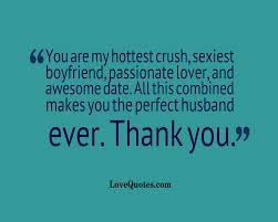 The Perfect Husband Love Quotes