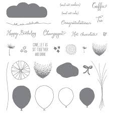Image result for google stampin up balloon celebration