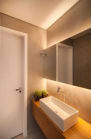 Beleuchtung Hinter Dem Spiegel Selber Bauen Pinterest Indirekte Beleuchtung Hinter Dem Spiegel Idee Fürs Gästebad Gästebad