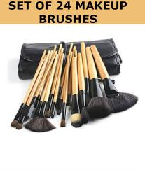 forever 21 professional synthetic makeup brushes set of 24 pcs with leather case forever 21 professional synthetic makeup brushes set of 24 pcs with