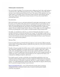 Restaurant Business Plan Template For Financial Analysis Business Plan Fast Food Restaurants 12