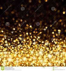 Christmas Lights Golden Background With Christmas Lights Stock Image Image 3644731