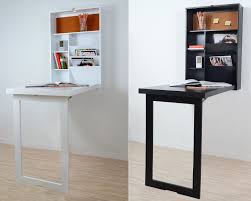 ... Fold Up Wall Table Mounted Desk Space Saver Computer Hanging  Unforgettable Image Design Home Decor 92 ...