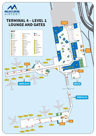 Looking for terminal parking at melbourne airport? Melbourne Airport Mel Terminal Maps Maps Of Shops Restaurants Food Court Check In 2021