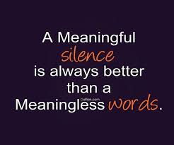Beautiful Quotes On Silence