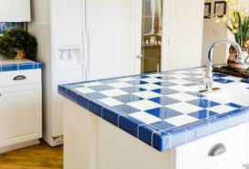 all you need to know about tile countertops