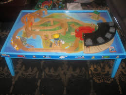 thomas wooden railway grow with me play table image 1 of 6 prev