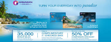 caribbean airlines frequent flyer card hawaiian airlines credit card aloha to the best hawaiian miles card