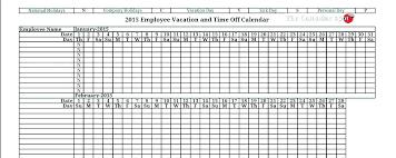 Employee Attendance Tracker Template Attendance Tracker Template