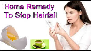How To Stop Hair Fall Home Remedy For Hair Loss Youtube