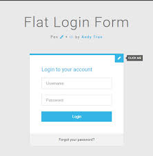 5 Free Download Login Form Css Template Google
