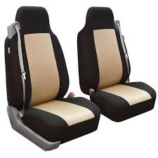 built in seatbelt classic cloth seat covers