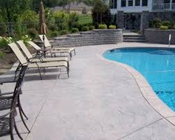 concrete pool decks. Contemporary Pool Decorative Concrete Has Opened The Door For Creating Unlimited  Possibilities Your Pool Deck With Concrete Pool Decks I