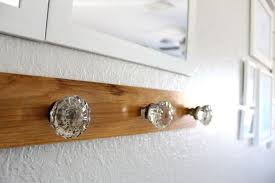 How To Make Coat Rack With Door Knobs Gorgeous Foyer Glass Door Knob Coat Rack Glass Door Knobs Coat Racks And