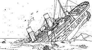 Small Picture The Tragedy of Titanic Coloring Pages Batch Coloring
