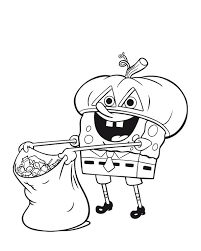 Small Picture nickelodeon halloween coloring pages for kidsjpg 595745