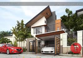 modern houses architecture.  Modern 2Storey Residence Modern Houses By Garra  Punzal Architects Intended Modern Architecture