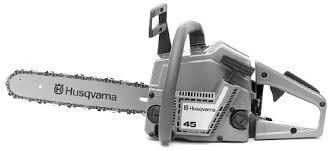 husqvarna 45 chainsaw