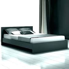 High Profile Bed Frame King Low With Headboard Metal Very Platform ...